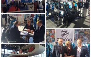 """PRODUCTION OF THE COMPANY ZIBROO was presented at the international exhibition """"SPORTS"""" IN MOSCOW"""