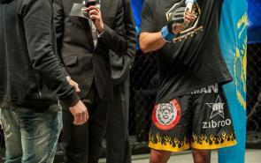 FAMOUS MMA fighter Kuat Khamitov became a World Champion in ZIBROO's uniform